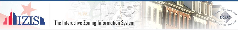 Welcome to IZIS - The Interactive Zoning Information System